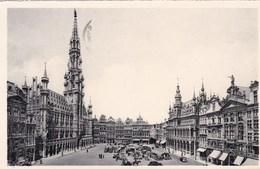 Brussel, Bruxelles, Stadhuis En Grote Markt (pk46778) - Marktpleinen, Pleinen