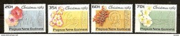 Papouasie Papua New Guinea 1989 Yvert 601-604 *** MNH Cote 6,25 Euro Flore Bloemen Fleurs - Papua-Neuguinea
