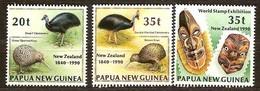 Papouasie Papua New Guinea 1990 Yvert 615-617 *** MNH Cote 4,75 Euro Faune Oiseaux Vogels Birds - Papouasie-Nouvelle-Guinée