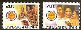 Papouasie Papua New Guinea 1990 Yvert 609-610 *** MNH Cote 3,20 Euro - Papouasie-Nouvelle-Guinée