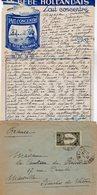 VP12.220 - Lettre De Mme La Comtesse De LEUSSE à MAZAGAN (Maroc ) Pour Mme La Comtesse De PERINI à MARSEILLE - Manuscripts