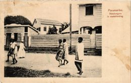 CPA PARAMARIBO Boschnegers In Stadskleeding SURINAME (a2946) - Suriname