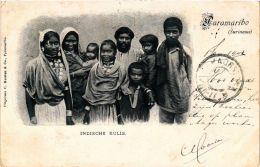 CPA PARAMARIBO Indische Kulis SURINAME (a2951) - Surinam