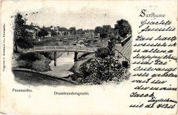 CPA PARAMARIBO Drambrandersgracht SURINAME (a2949) - Suriname