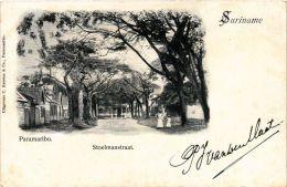 CPA PARAMARIBO Stoelmanstraat SURINAME (a2954) - Surinam