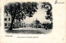 CPA PARAMARIBO Heerenstraat Oostelijk Gedeelte SURINAME (a2955) - Surinam
