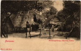 CPA Boschnegerkamp Marous Cottica SURINAME (a2956) - Suriname