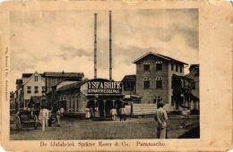 CPA PARAMARIBO De Ijsfabriek Strater Esser And Co. SURINAME (a2958) - Surinam