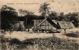 CPA Indiaansche Kamp In De Boven Para SURINAME (a2961) - Suriname