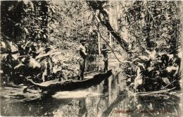 CPA Indiaaner Op Jacht SURINAME (a2980) - Surinam