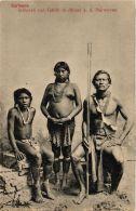 CPA Indianen Van Glaibi Te Albina A. D. Marowyne SURINAME (a2982) - Surinam