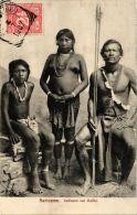 CPA Indianen Van Galibi SURINAME (a2999) - Surinam