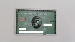 MEXICO - CREDIT CARD - AMERICAN EXPRESS - GREEN - WITH CHIP - Geldkarten (Ablauf Min. 10 Jahre)