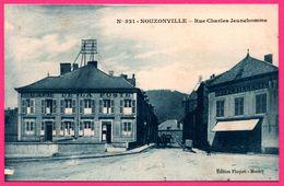Nouzonville - Rue Charles Jeunehomme - Café De La Poste - Quincaillerie - Animée - Edit. FLOQUET - Unclassified