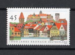 Germania R F T.:  Millenario Della Città Di Kronach   1 Val.  MNH**   Del   16.01.2003 - [7] Repubblica Federale