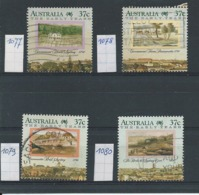 Australië  Y / T    1077  Tot  1080        (O) - 1980-89 Elizabeth II