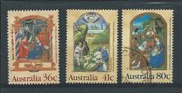 Australië  Y / T     1135 / 1137        (O)  Kerst - 1980-89 Elizabeth II