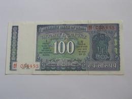 100 Hundred Rupees -INDE - Reserve Bank Of India 1977-1982  ***** EN ACHAT IMMEDIAT ***** - Inde