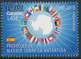 SPAIN 2018 Antarctic Treaty - Madrid Protocol 1998-2018** - Trattato Antartico