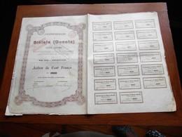 """Action De 100F""""Charbonnages De Biélaïa""""Donetz Russie Russia 1895  N° 39727 - Russie"""