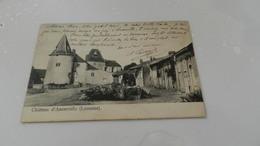 Cp Chateau D Ancerville - France