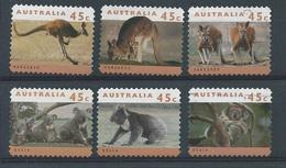 Australië  Y / T     1368a / 1373a        (O) - Oblitérés