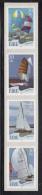 Ireland 2001 MNH Scott #1339a Strip Of 4 Coils 30p Sailboats - 1949-... République D'Irlande