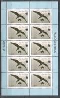 10x KYRGYSTAN - MNH - Animals - Birds - WWF - Pájaros