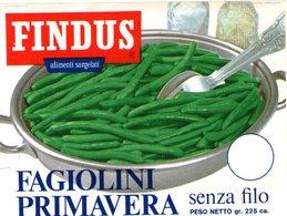 B 1939 - Etichetta, Findus - Frutta E Verdura