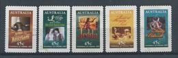 Australië  Y / T     1445 / 1449        (O) - Oblitérés