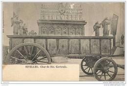 NIVELLES ..-- Brt Wall. ..-- Char De Sainte - Gertrude . - Nivelles