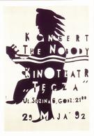 MLODOZENIEC Piotr  - Affichiste Polonais Concert The Nobody Jazz Pop Rock Chaumont  -  CPM 10,5x15 TBE 1992 Neuve - Illustratoren & Fotografen