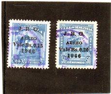 B - 1947 Venezuela - Simon Bolivar - Soprastampati - Venezuela