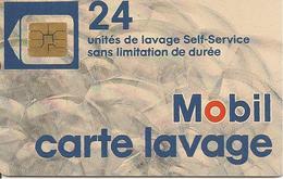 CARTEµ-PUCE-SO3--LAVAGE-MOBIL-24-UNITES-TBE - Frankrijk