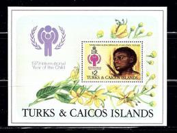 Turks And Caicos Is 390 MNH 1979 Intl Year Of The Child - Turks And Caicos