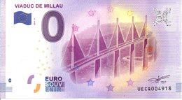 Billet Touristique 0€ Viaduc De Millau 2018-2 (12) - EURO
