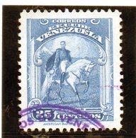 B - 1940 Venezuela - Statua Di Simon Bolivar - Venezuela