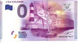 Billet Touristique 0€ L'Ile D'Oléron 2015-1 (17) - EURO