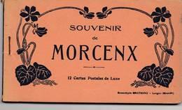 MORCENX: Carnet Souvenir De 11 Cartes Postales - Morcenx
