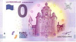 Billet Touristique 0€ La Rochelle La Grosse Horloge 2018-2 (17) - EURO