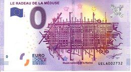 Billet Touristique 0€ Le Radeau De La Méduse 2017-1 (17) - EURO