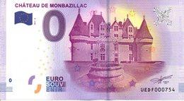 Billet Touristique 0€ Château De Monbazillac 2017-2 (24) - EURO