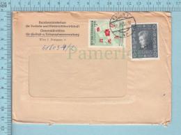 Osterreich -  Commercial Envelope, Mozart Stamp, Cover Wien 1958 - 1945-.... 2ème République