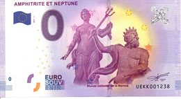 Billet Touristique 0€ Amphitrite Et Neptune 2017-1 (29) - EURO