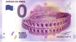 Billet Touristique 0€ Arènes De Nîmes 2017-1 (30) - EURO