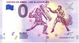 Billet Touristique 0€ Arènes De Nîmes - Les Gladiateurs 2018-2 (30) - EURO
