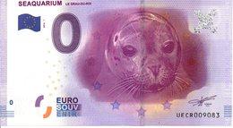 Billet Touristique 0€ Seaquarium - Le Grau-du-Roi 2016-1 (30) - EURO