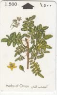 OMAN(GPT) - Herbs Of Oman/Frankincense, CN : 29OMNC/B, 02/96, Used - Oman