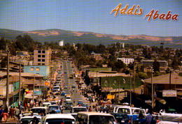 ETHIOPIA, ADDIS ABABA, VISTA PAARCIAL  [45941] - Etiopia