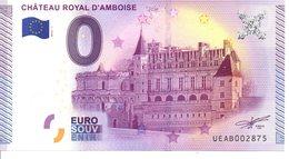 Billet Touristique 0€ Château Royal D'Amboise 2015-1 (37) - EURO